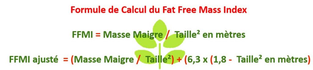calculer ma composition corporelle fat free mass index