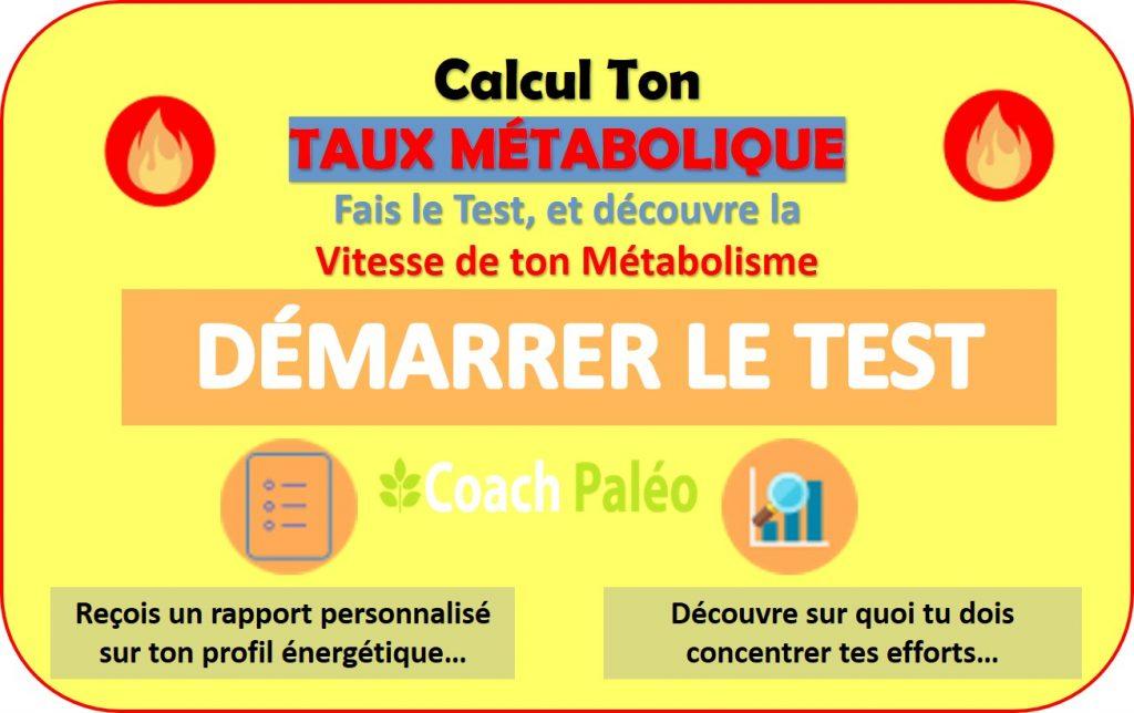 calcul ton Taux metabolique evalue ton metabolisme
